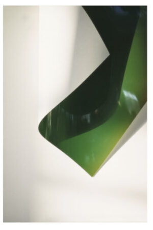 Wolfgang Tillmans, Paper Drop (green), 2008, image credit: courtesy Galerie Buchholz, Berlin/Cologne/New York