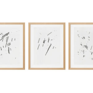 Imi Knoebel, Five Pencil Drawings, 1972