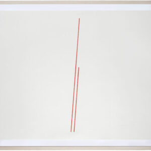 Fred Sandback, Untitled, 1974