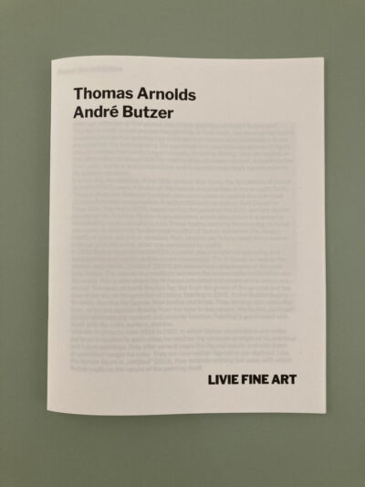 Publication Arnolds Butzer